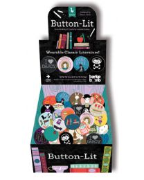 Button-Lit Wearable Classic Literature Button Box
