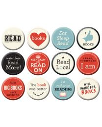 I Love Books Magnets