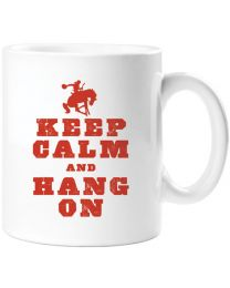 Keep Calm and Hang On Mug