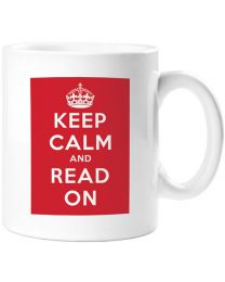 Keep Calm and Read On Mug