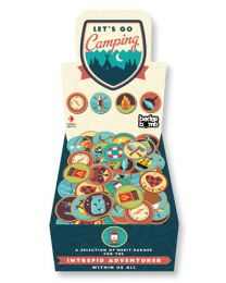 Let's Go Camping Buttons