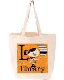 L Is for Library Tote