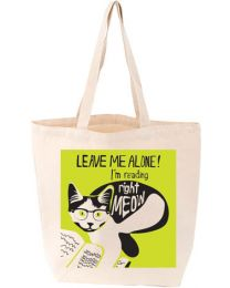 I'm Reading Right Meow Tote