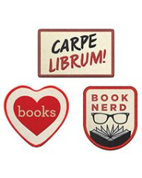 Book Nerd 3-Patch Assortment