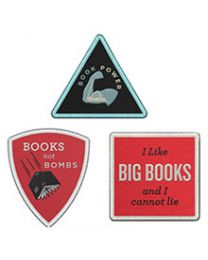Book Power 3-Patch Assortment
