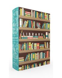 Home Library Book Box Puzzle