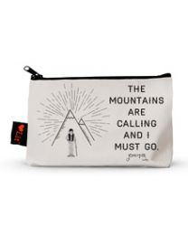 The Mountains Are Calling Pencil Pouch