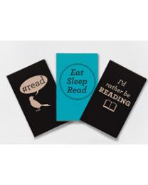 I'd Rather Be Reading Notebooks Three-book Set