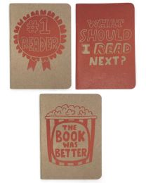 What Should I Read Next? 3-pack Notebooks