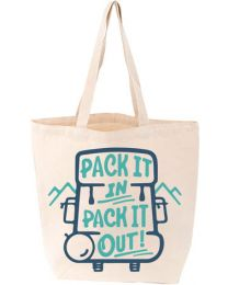 Pack It In, Pack It Out Tote