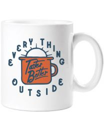 Everything Tastes Better Outside Mug
