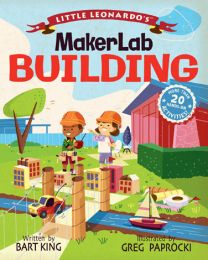 Little Leonardo's Maker Lab: Building Book