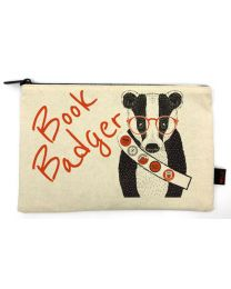 Book Badge Pencil Pouch