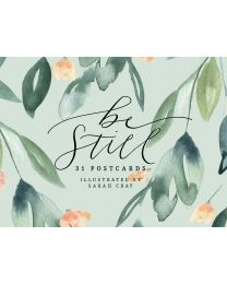 Be Still 31 Postcards