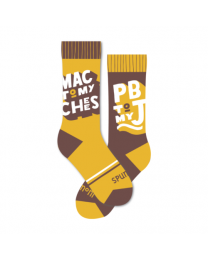 Mac to My Cheese Socks