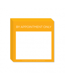By Appointment Only Stickies