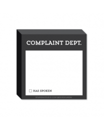 Complaint Department Stickies