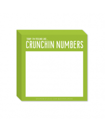 Crunchin' Numbers Stickies